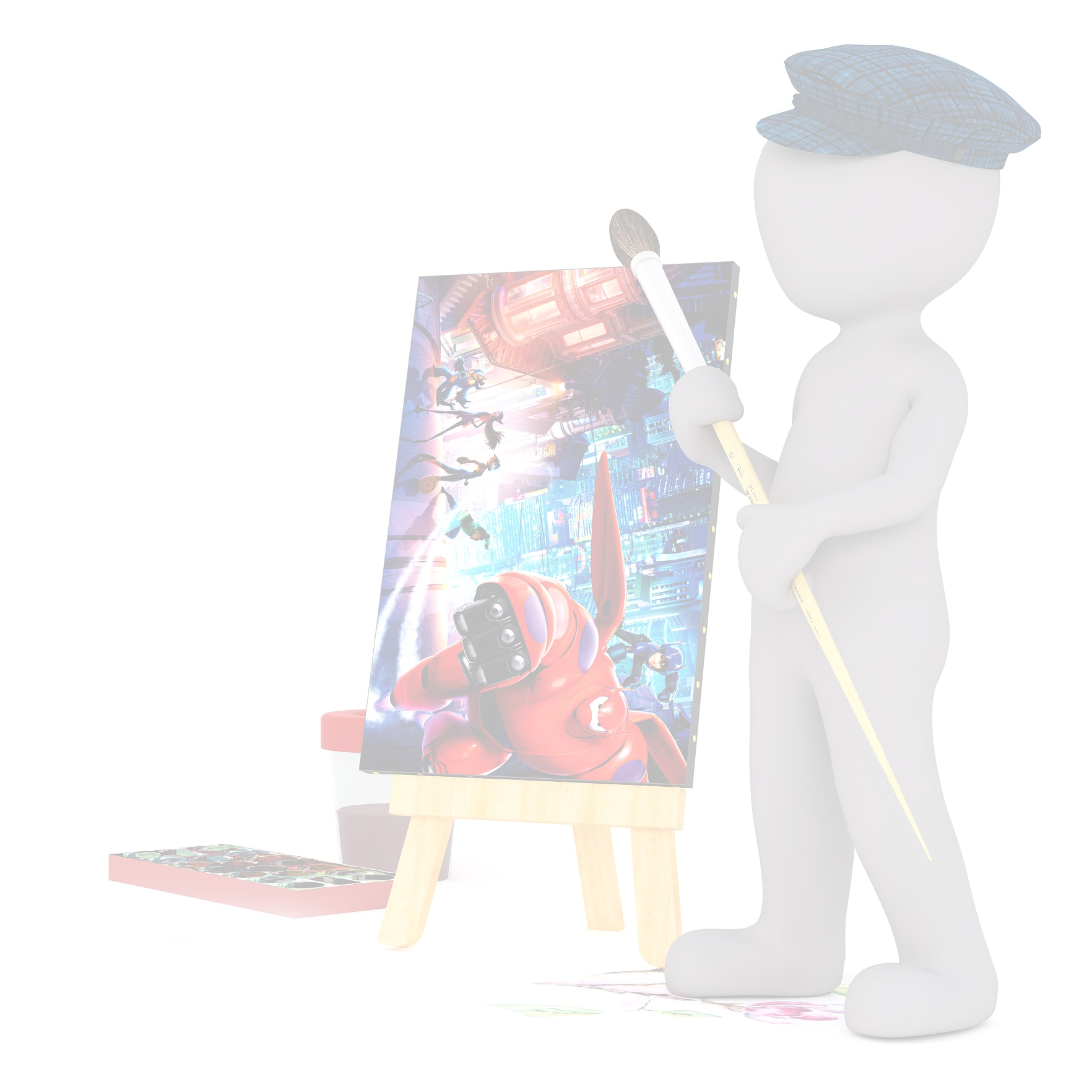 Grafik: Maler